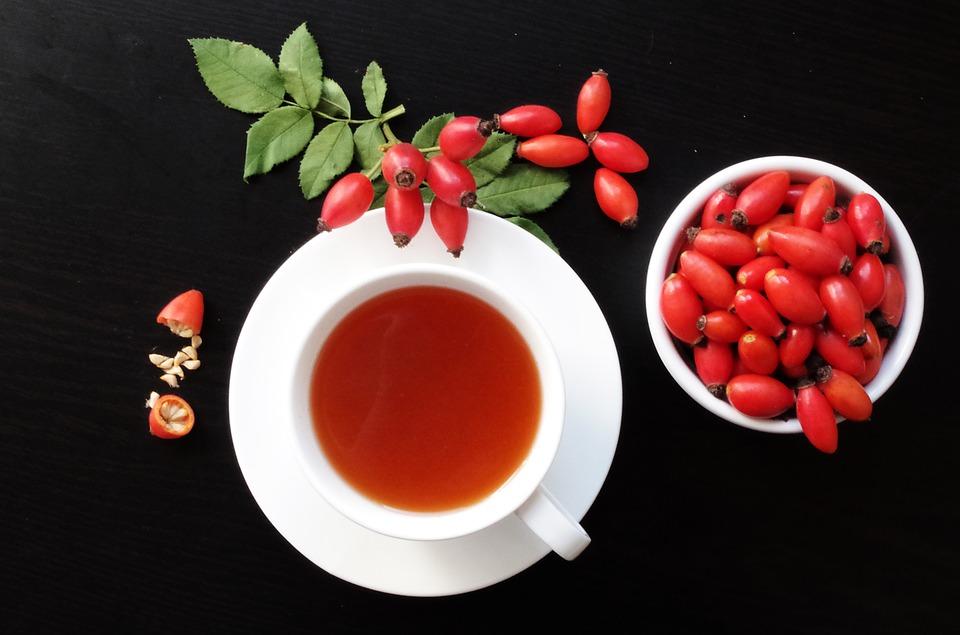 Šipkov čaj 1