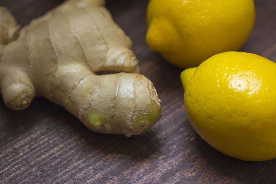 Napitek z ingverjem in limono 1