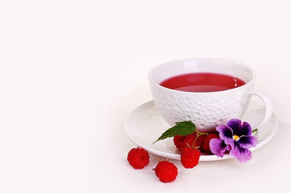 Zdravilen čaj iz malinovih listov 2