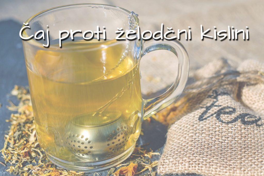 Čaj proti povečani želodčni kislini