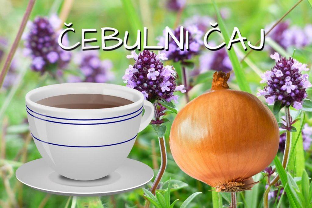 Čebulni čaj