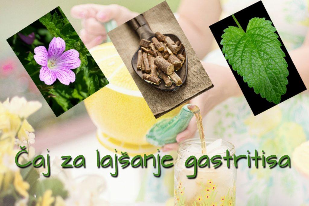 Čaji proti povečani želodčni kislini, razjedam in gastritisu