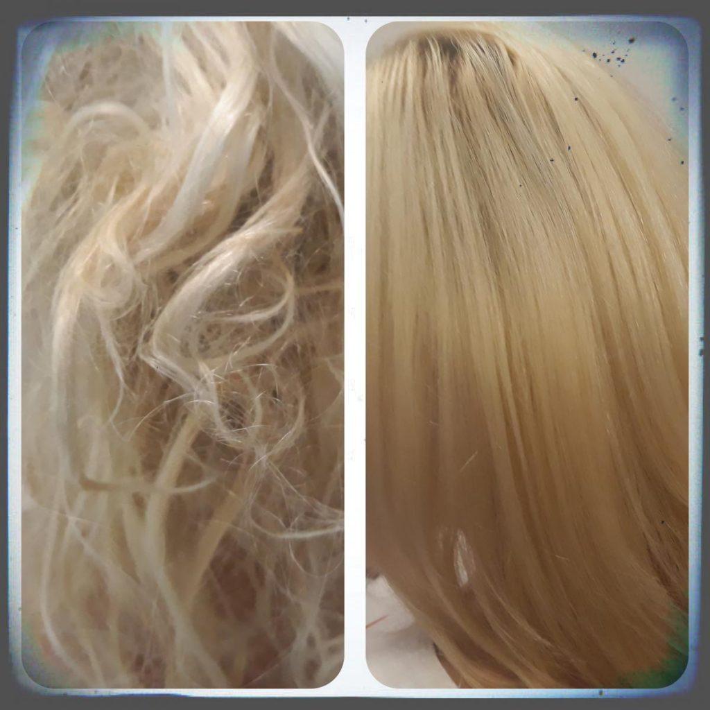 Obloga za suhe in poškodovane lase